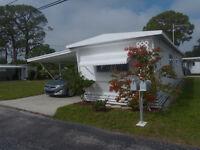 Maison mobile en Floride (côte ouest)