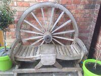 Cartwheel bench
