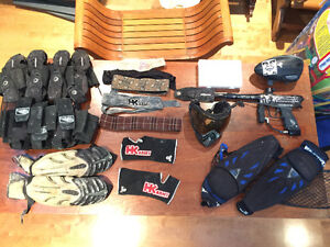 Quality/Rare Paintball gear and DYE DM9 (HK/JT inside)