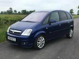59 Vauxhall Meriva 1.4i 16v Active Plus 1 Owner From New Privacy Glass