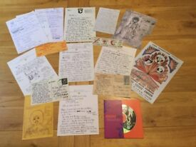 JIMI HENDRIX TRULY A WONDERFUL COLLECTION OF 27 VERY INTERESTING VARIOUS AND AMAZING ITEMS.
