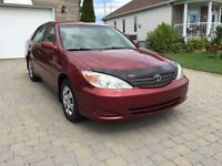 2002 Toyota Camry LE One owner4cylinder looks and drive like new