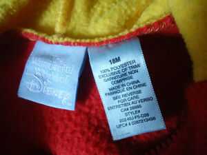 Boys Size 18 months Winnie The Pooh Hoodie Kingston Kingston Area image 4