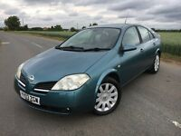 Nissan Primera 2.0 T-Spec - Long MOT - Fantastic Condition - 2003 '03'
