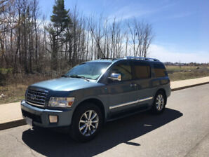 2008 Infiniti QX56 7 passenger with towing capability