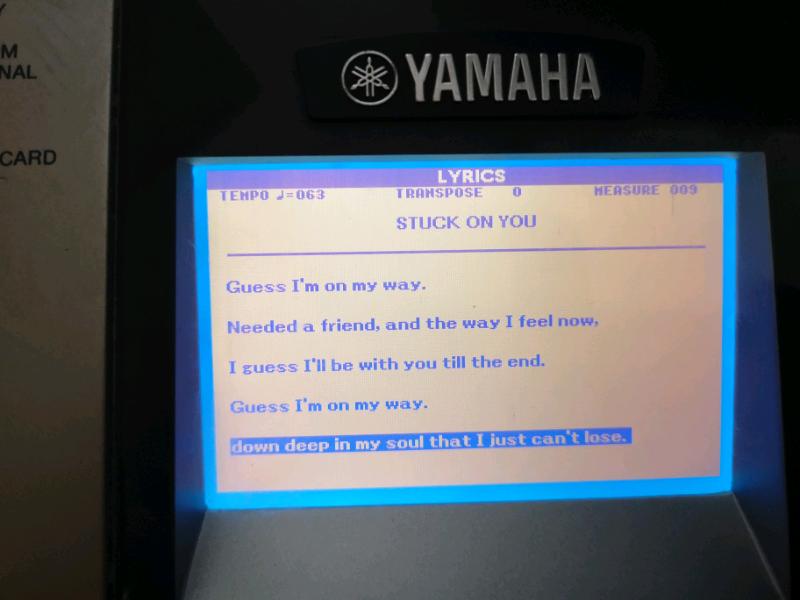 Yamaha keyboard | in Cumbernauld, Glasgow | Gumtree