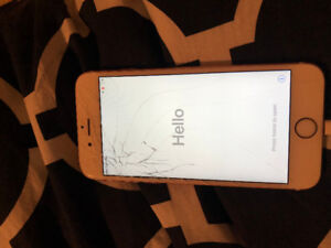 Cracked iPhone 6S - Works perfectly fine just a cracked screen