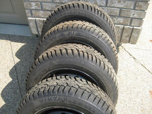Winter Tires P175 65 R14.Off Corolla,Will Fit Other Make & Model