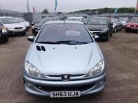 Peugeot 206 1.6 ( a/c ) 2003MY Coupe Cabriolet Allure