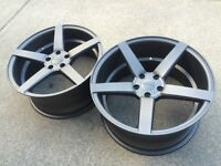"""NEW 19""""Ruffino Boss Concave staggered (5x112)- VW/Audi/Merc"""