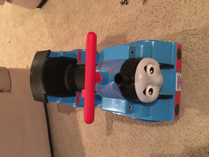Battery operated ride on Thomas the train