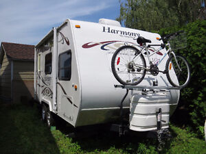 ROULOTTE HARMONY 18 PIEDS