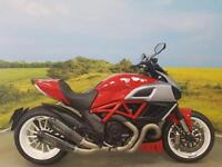 Ducati Diavel 2011 **GPR CARBON SHOT GUN EXHAUSTS, SEAT COWL, TAILORED SEAT**