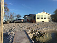 Lakefront cottage - Steep Rock, MB
