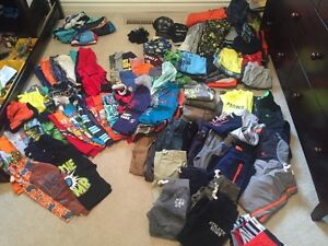 Boys clothes size 4 and 5 over 90 things