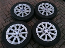Mercedes A or B Class Alloys With Good Tyres