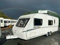 2007 Swift Expression 620 6 berth twin axle Caravan
