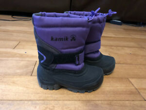 Kamik Snow Boots Size 8 Toddler - Excellent Condition $18