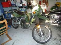 2001 Kawasaki 650 KLR