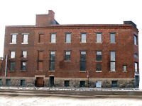 Griffintown, Montreal retail space 13,025 sq ft + 4096 sq ft