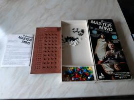 Vintage Master Mind game