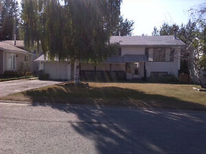 Newer upper level of house available immediately