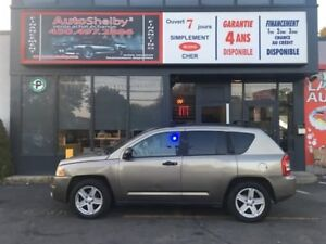 Jeep Compass 4WD-AUTOMATIC-4 CYL-MAGS 2007