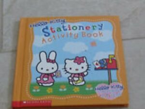Brand New Hello Kitty Stationery Activity Book (Hard Cover)