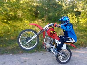 Honda XR 200cc dirt bike