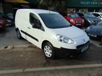 Peugeot Partner 1.6HDi ( 92 ) 850 2014 S L1 D SIDE LOADING FULLY LINED NO VAT
