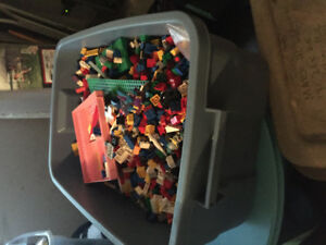 Lego - tote full of misc pieces