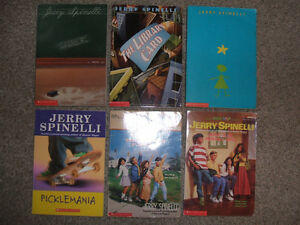 Box of 18 children's books-Sachar, Spinelli, Strasser, Clements London Ontario image 2