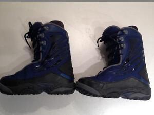 Ride men's snowboard boots, size 8.5 US, 41.5 EUR