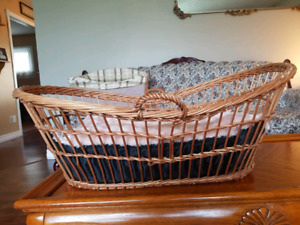Wicker dog bed for sale