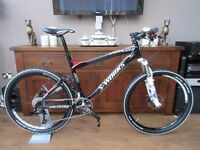 STUNNING RARE MENS SPECIALIZED S WORKS EPIC FSR CARBON TEAM XC RACE MACHINE MOUNTAIN BIKE