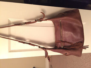 Roots Tribe Leather Bag for Sale