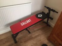 AB bench and weights set free delivery