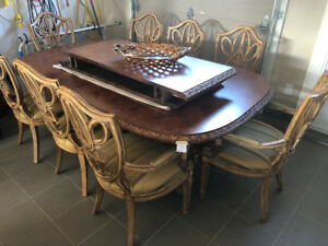 High end furniture LOT FOR SALE Table/ Desk/ Chaires /Decoration