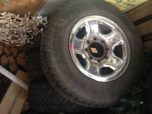 4 Rims & Tires fit 2008 Dodge 2500 4x4