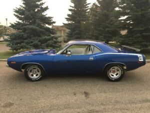 1973 Cuda 340 numbers matching