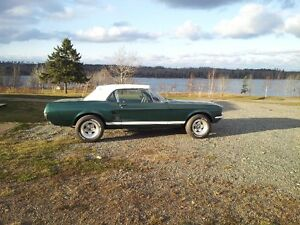 67 Mustang to trade for moving services