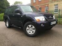 Mitsubishi Shogun 3.2DI-D auto Field LWB 7 SEATER, FULL BLACK LEATHER TRIM,