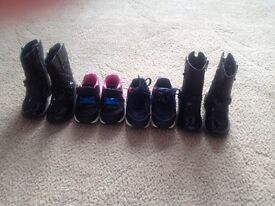Girls boots and trainers