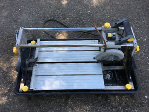 Mastercraft 10A Sliding Wet Tile Saw