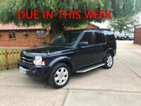 2005 (55) LANDROVER DISCOVERY 3 2.7 TDV6 HSE AUTOMATIC 4X4 7 SEATER TURBO DIESEL