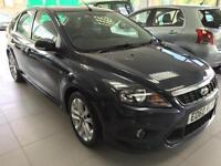 2010 Ford Focus 1.6TDCi 110 ( DPF ) Zetec S, SAT NAV lONG Mot very clean car