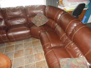 Very large sectional couch