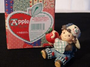 """The Apple Of His Eye """"Love One Another"""" Figurine"""