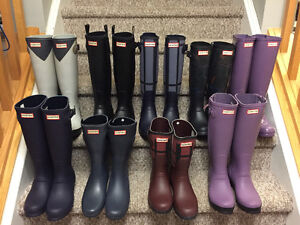 New! Hunter boots  women's size  7 and 8