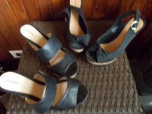 heeled shoe purse lot